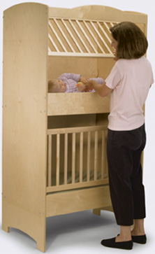 Double-Decker Crib